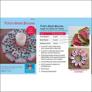 Fold 'n Stitch Blooms - All About Quilting