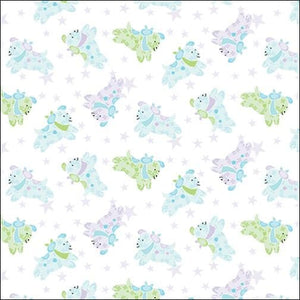 Little Charmers Puppies White - 1-3/4 Yard Remnant - All About Quilting