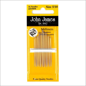 Milliners / Straw Needles Size 5/10 - All About Quilting