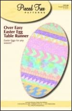 Over-Easy Easter Egg Table Runner - All About Quilting