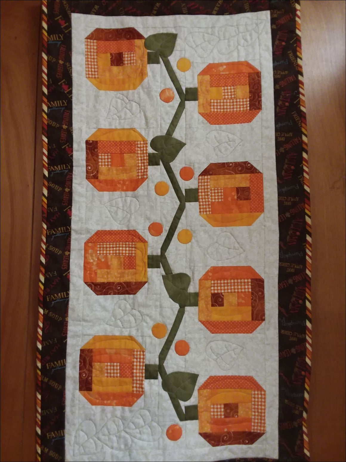 Pie Harvest Pattern - All About Quilting