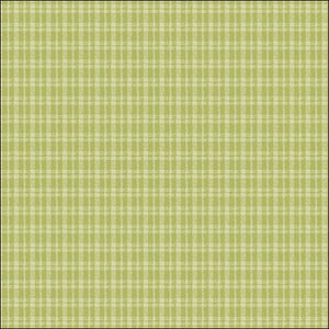 Plaid Lime Fabric - All About Quilting