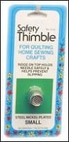 Safety Thimble Small Notion