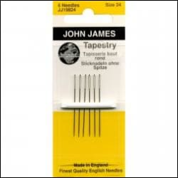 Tapestry Needles Size 24 - All About Quilting