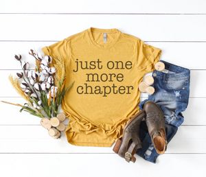 ONE MORE CHAPTER TEE