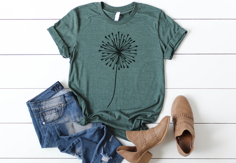 Dandelion, Make a Wish UNISEX T-Shirt