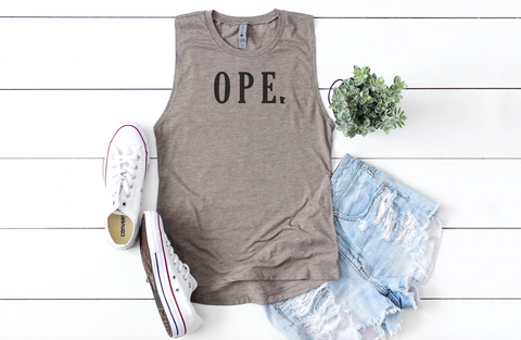 OPE MINNESOTA Women's Muscle Tank Top