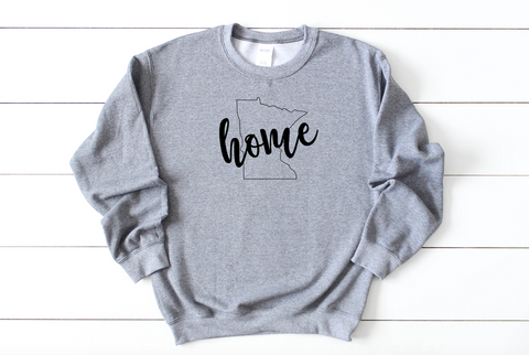 HOME Minnesota Crew Neck Sweatshirt