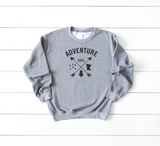 Minnesota Adventure with Arrows Crew Neck Sweatshirt