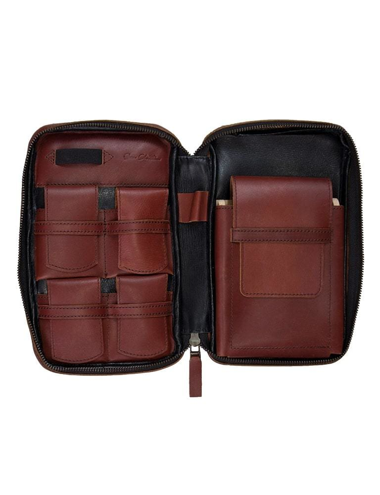 Sienna Cabernet SC Leather Case - Bag