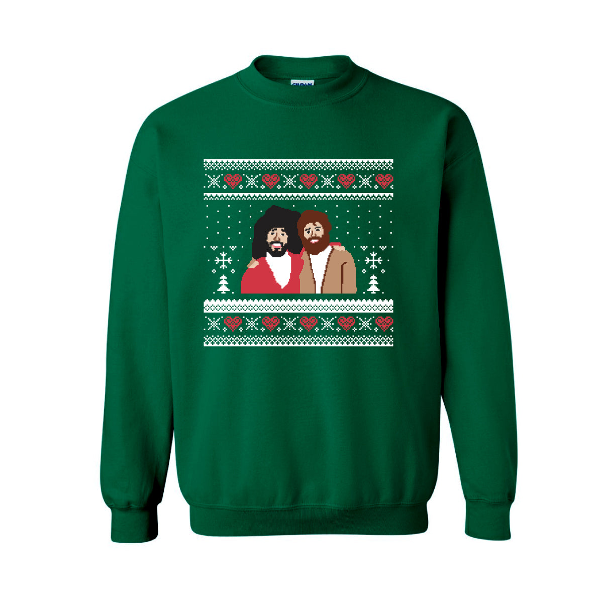ugly christmas sweater green