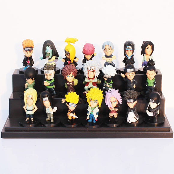 21Pcs/Set Anime Naruto PVC Figures