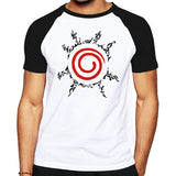 Naruto Seal Cotton T-Shirt