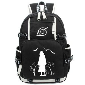 Akatsuki Cloud Big Naruto Laptop Backpack