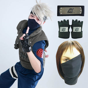 Kakashi Hatake Cosplay (Full Set)