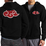 Akatsuki Cloud Zip Up Hoodie
