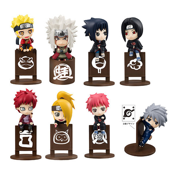 Naruto Shippuden Tea Cup Decoration Set (Set - 8 pcs)