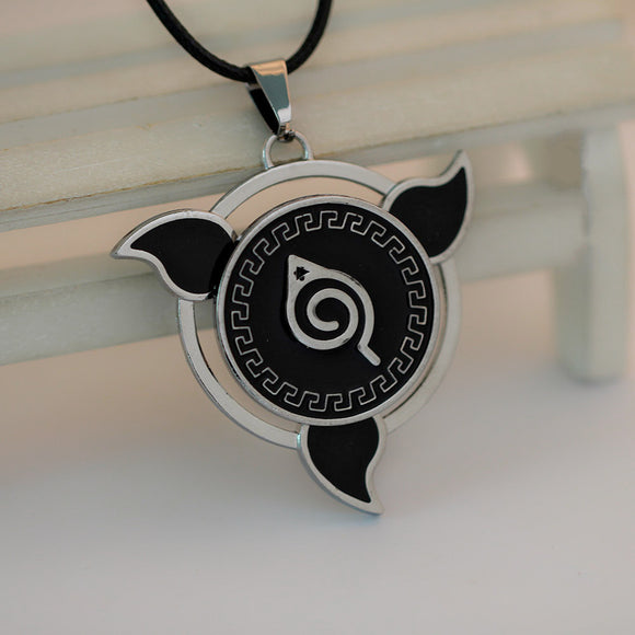 Naruto Friendship Leather Necklace