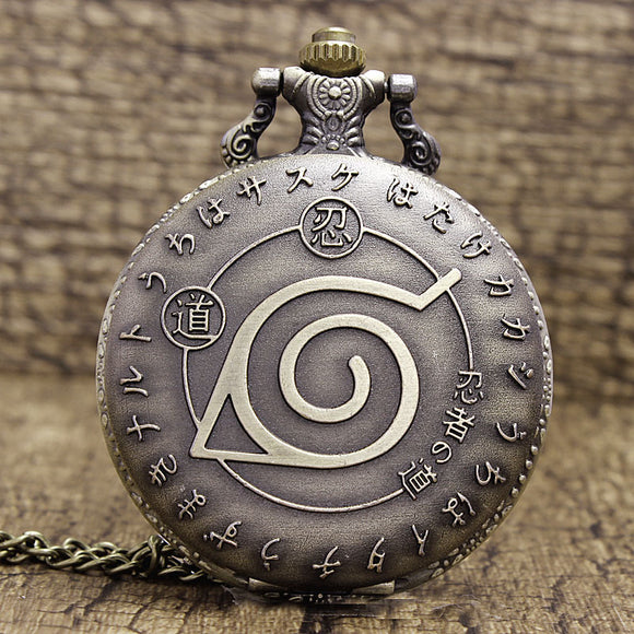 Naruto Pendant Pocket Watch