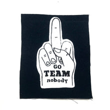 Go Team Nobody Canvas Patch
