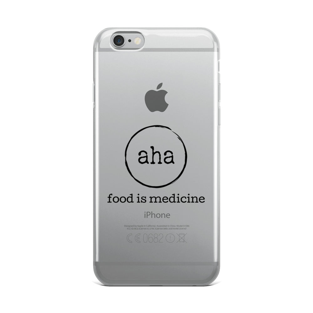 aha iPhone Case - aha Pure Foods