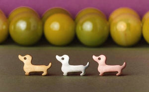 Cute Dachshund Retro Earrings 🐾