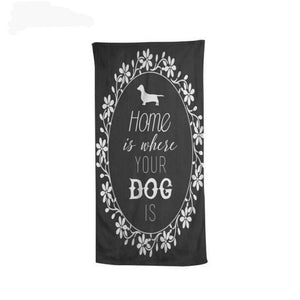 Soft & Cute Dachshund Bath and Beach Towel 🐾
