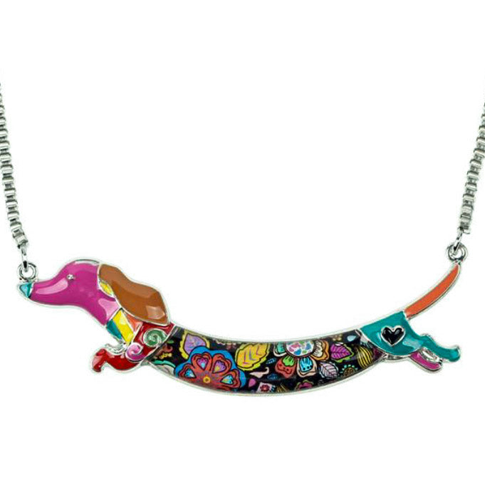 Amazing Dachshund Choker Necklace 🐾