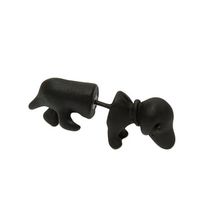 Cool PunkRock Dachshund Stud Earrings 🐾