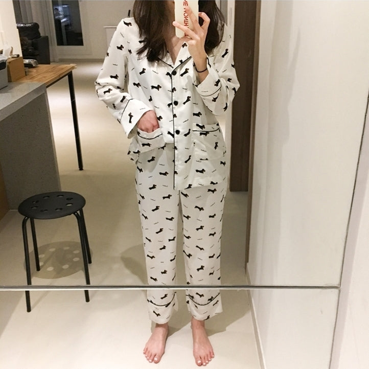 Cute Dachshund Pijama - 3 Pieces Set 🐾