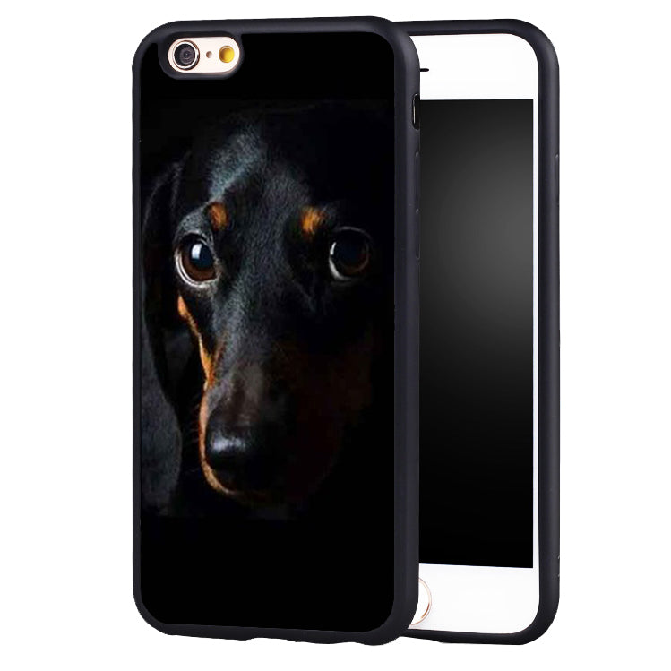 Dark iPhone Dachshund Cases 🐾