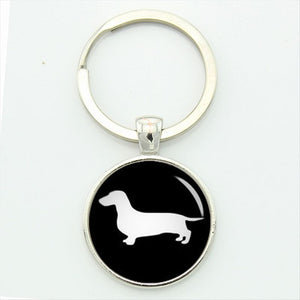 Cute Dachshund Key Chain Vintage 🐾