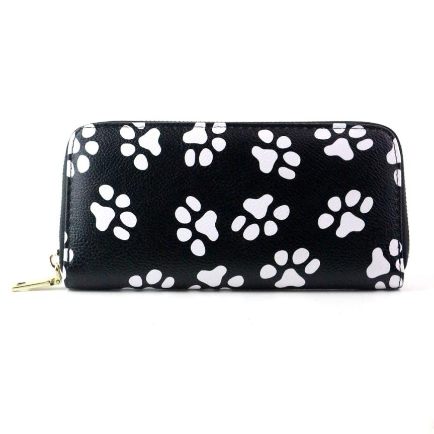 Fashioned Dog Paw Purse and Wallet 🐾