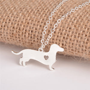 Heartbreaker Dachshund Necklace & Pendants 🐾
