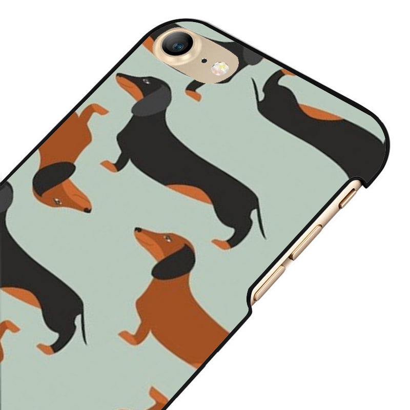Black and Brown Dachshund Cases for iPhone 🐾