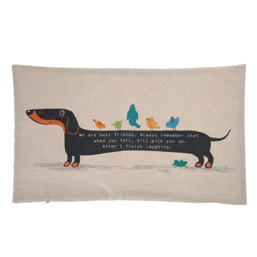 Charming Dachshund Pillow Cover 🐾