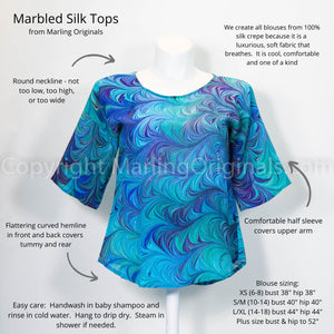 Why choose a Marling Original silk top?