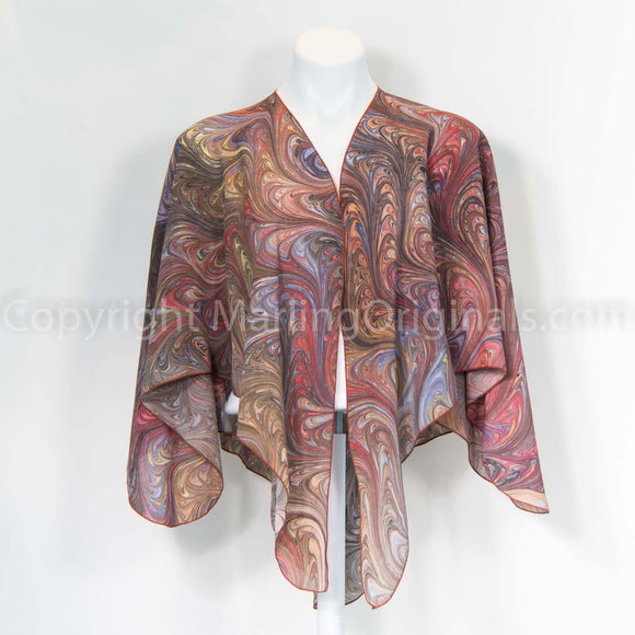 Silk crepe de chine wrap - the perfect one size fits all accessory