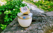 Aura Cleanse: Sage and Geode Soy Candle