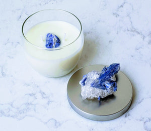 Blue Vision: Juniper and Kyanite Soy Candle