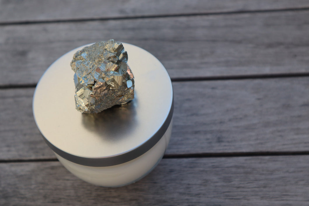 Solar Energy: Eucalyptus and Pyrite Soy Candle