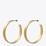 Big Hoop Circle Earrings