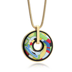 Abstract Art Necklace