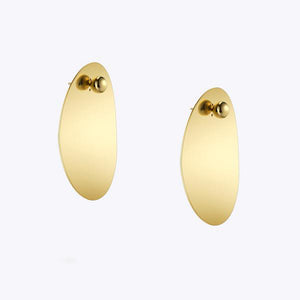 Big Disc Earrings