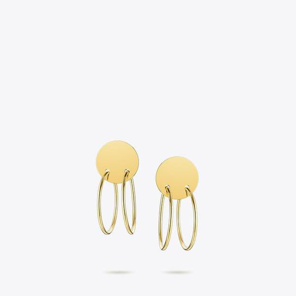 Circle Line Earrings