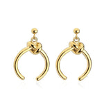 Classic Knot Dangle Earrings