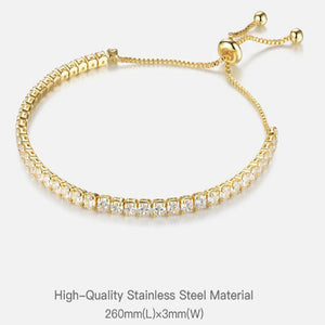 Crystal Bracelet With Zircon