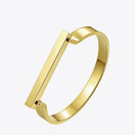 Engravable Bar Cuff Bracelet