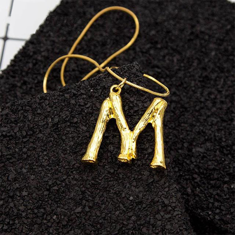 """M"" Letter Chain Necklace"