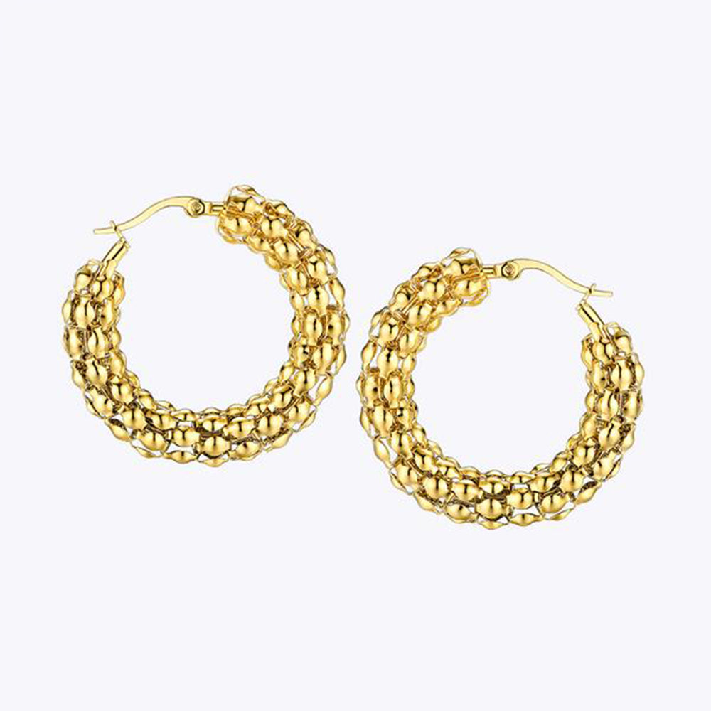 Marcella Trendy Hoop Earrings